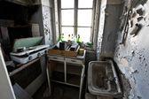 Eski terk edilmiş vintage mutfak — Stok fotoğraf
