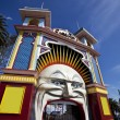 Luna park — Stock Photo