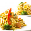 Fried noodles asistyle food — Stock Photo #14072588