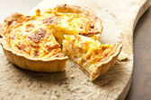Quiches lorraines — Stock Photo