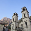 view on old town of kotor unesco twon in montenegro. — Stock Photo