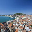 Split city view in croatia - Stock Photo