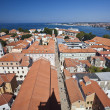 Zadar old town in crotia - 图库照片