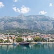 Makarska in Croatia, beautiful turistic town — Stock Photo