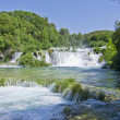Waterfalls on Krka River. National Park, Dalmatia, Croatia — Stock Photo #14523945