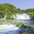 Waterfalls on Krka River. National Park, Dalmatia, Croatia — Stock Photo #14523953