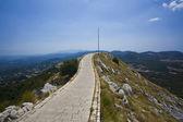 Bergsstig i montenegro national park — Stockfoto