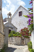 Pucisca, old village in brac, croatia — Stockfoto