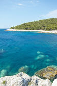Beautiful idillic bay in hvar, croatia — Stock Photo
