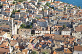 Hvar, city centre, croatia — Stock Photo