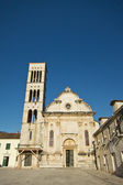 Old church in hvar city centre, croatia — Stock Photo
