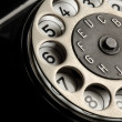Royalty-Free Stock Photo: Vintage telephone detail