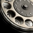 图库照片: Vintage telephone detail