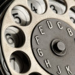 Vintage telephone detail — Stock Photo