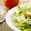 Fresh salad with chicken and tomatoes — Stock Photo #14535985