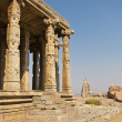 Stock Photo: Temple in Hampi, Karnataka state, India