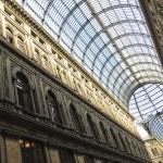 Постер, плакат: Gallery Umberto in Naples Italy Detail of the glass roof