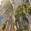 The beautiful Capri island, via Krupp - Stock Photo