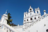 The Panjim Church of Our Lady of the Immaculate Conception, in g — Stock Photo
