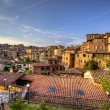 Old town in siena - Stock Photo