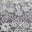 Vintage tablecloth lace detail — Lizenzfreies Foto
