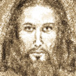 Portrait of Jesus Christ - Foto Stock
