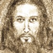 Portrait of Jesus Christ - Stock Photo
