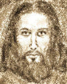 Portrait of Jesus Christ — Stockfoto