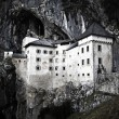 Predjama castle in the cave, slovenia — Stock Photo #23094090