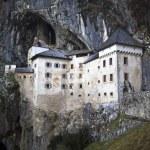 Predjama castle in the cave, slovenia — Stock Photo #23094094