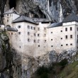 Predjama castle in the cave, slovenia — Stock Photo #23094220