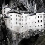 Predjama castle in the cave, slovenia — Stock Photo #23094232