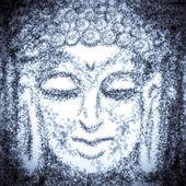 Portrait of buddha — Stock Photo