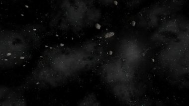 Earth Milkyway Zoom Out Kuiper Belt to Milkyway Part 3 / 3 CGI HD — 图库视频影像