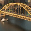 Fort Pitt Bridge — Stock Video #13118588