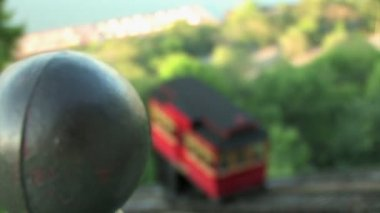 The Duquesne Incline travels — Stock Video