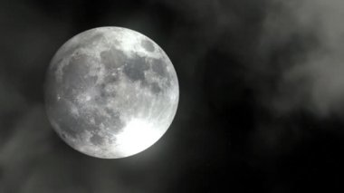 New Full Moon — Stock Video #13408414