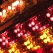 Carnival lights close-up.  Set of three clips! - Stock Photo