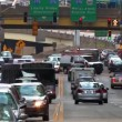 Traffic in downtown Pittsburgh, PA — Stock Video