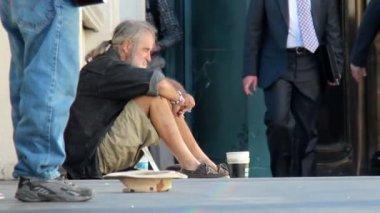 Homeless in Las Vegas — Stock Video
