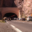 Royalty-Free Stock Imagen vectorial: The Queen Creek Tunnel on US 60 in Superior, Arizona.