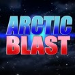 Stock Video: Arctic blast title plate.