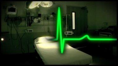 An empty emergency room. — Stock Video