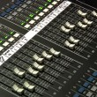 A professional audio mixer board. — Stock Video #14152020