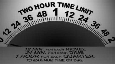 Parking Meter Transition 2786 — Stock Video