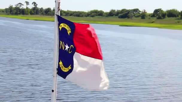 The North Carolina flag. — Vidéo