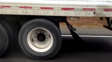 Semi Truck — Stock Video