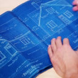 Wideo stockowe: House Blueprints