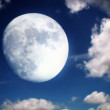 Royalty-Free Stock Vector Image: Full Moon Sky Time Lapse