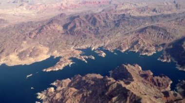 Aerial Lake Mead 2949 — Stock Video